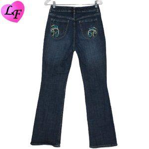 CHICO'S Boot Cut Platinum Jeans Blue Size 6